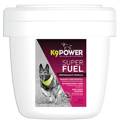 Animal Naturals K9 all natural canine Super Fuel Muscle Builder formula 15lbs