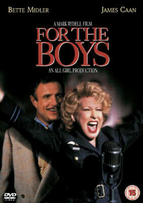For the Boys DVD (2004) Bette Midler, Rydell (DIR) cert 15 Fast and FREE P & P
