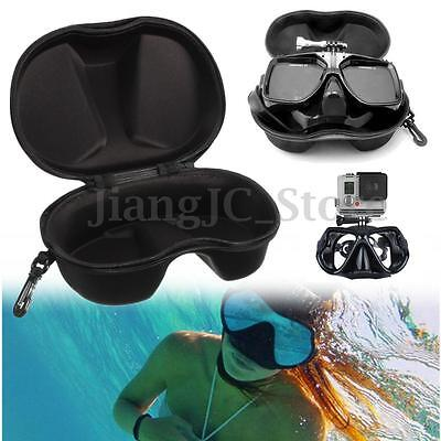 Diving Mask Scuba Glasses Case Protector Container Organizer Box For Gopro 3+ 4