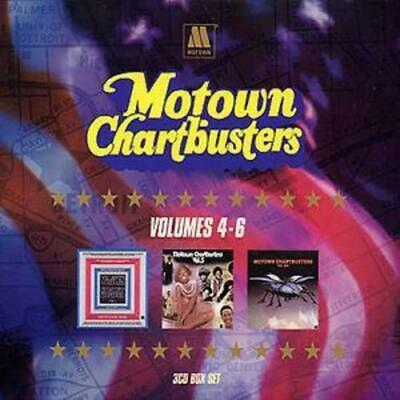 Various : Motown Chartbusters: VOLUMES 4 - 6 CD (2001)