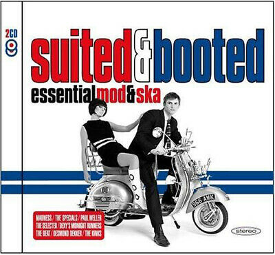 Various Artists : Suited and Booted: Essential Mod and Ska CD (2005)