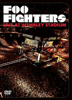 Foo Fighters: Live at Wembley Stadium DVD (2008) Foo Fighters cert E Great Value