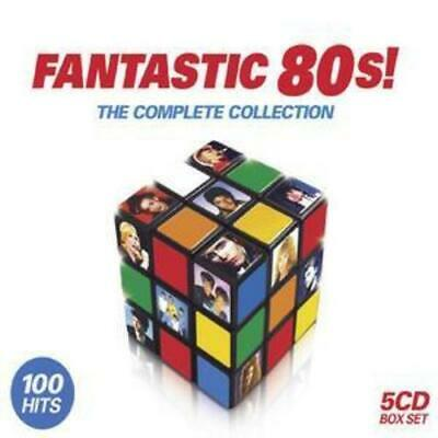 Various Artists : Fantastic 80s: The Complete Collection CD 5 discs (2008)