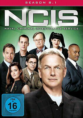 NCIS - Navy CIS - Season/Staffel 8.1 # 3-DVD-BOX-NEU