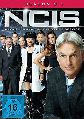 NCIS - Navy CIS - Season/Staffel 9.1 # 3-DVD-BOX-NEU