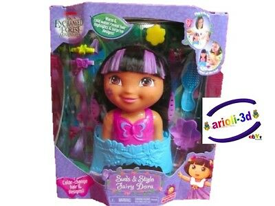 DORA Enchanted Forest Suds and Style Fairy styling Head Hair - play in tube NEW