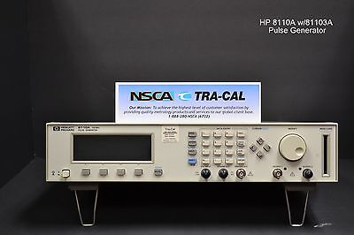 Keysight 8110A w/81103A (2 output modules) - IN STOCK