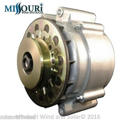 Freedom PMG 12 volt Hydro permanent magnet alternator 4 gas engine or hydro 80mm