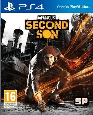 PlayStation 4 inFAMOUS: Second Son (PS4) VideoGames