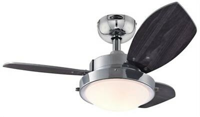 Westinghouse 7876300 - Wengue 30-Inch Reversible Three-Blade Indoor Ceiling Fan