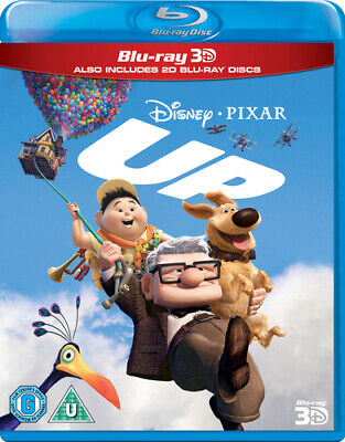 Up Blu-ray (2012) Pete Docter cert U 3 discs Incredible Value and Free Shipping!