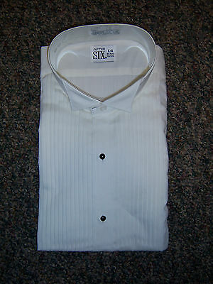 NEW Ivory Tuxedo Wing Collar Formal Shirt most mens sizes avilable