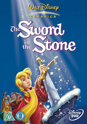 The Sword in the Stone DVD (2002) Wolfgang Reitherman cert U Fast and FREE P & P