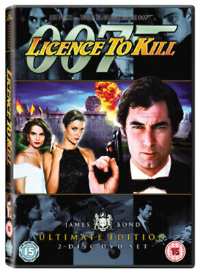 Licence to Kill DVD (2006) Timothy Dalton, Glen (DIR) cert 15 Quality guaranteed