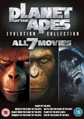 Planet of the Apes: Evolution Collection DVD (2011) Charlton Heston