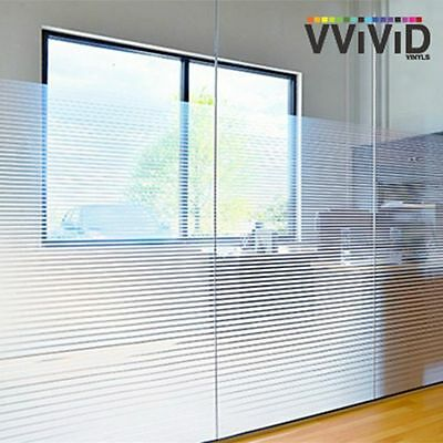 """White Square Block Frosted Window Decor Privacy Home DIY Vinyl Film 36/"""" x 6ft"""
