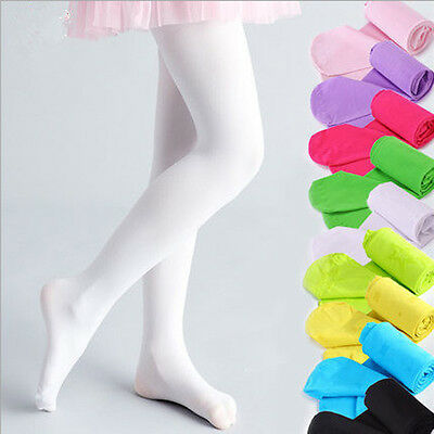 Hot Opaque Velvet Pantyhose Stockings Tights Pants For 4-9 Years Old Kids New