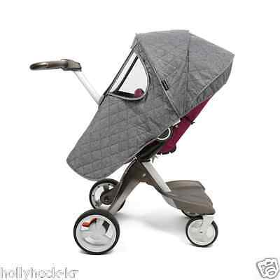 Stokke Xplory & Crusi Stroller Quilted Padding Cover / Hand Muff for Winter Cold
