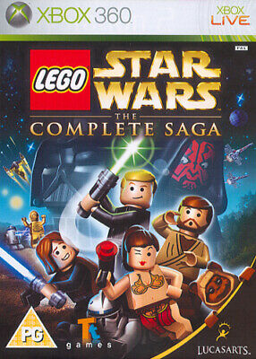 LEGO Star Wars: The Complete Saga (Xbox 360) VideoGames
