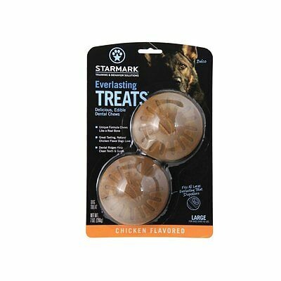 Everlasting Treat Chicken by StarMark Two treats per  (Size: Large, 2-Pack) AOI