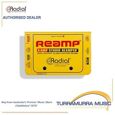 Radial X-Amp Transformer Isolated Active Reamper - Xamp Reamp Box