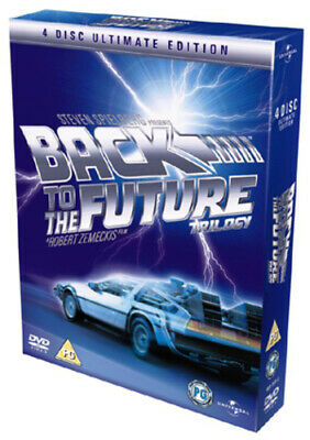 Back to the Future Trilogy DVD (2005) Michael J. Fox