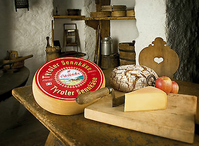 Tyroler Salsa Cheese from the Pinzgau Austria Raclette 1/4 Loaf