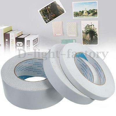 50m Roll Transparent Clear Double Sided Self Adhesive Tape For Craft Packaging