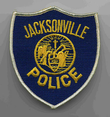 Vintage Jacksonville Arkansas Police Patch Rare Obsolete