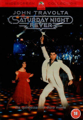 Saturday Night Fever DVD (2002) John Travolta, Badham (DIR) cert 18 ***NEW***