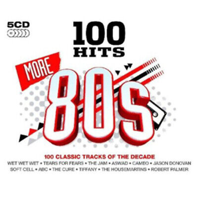 Various Artists : 100 Hits: More 80s CD Box Set 5 discs (2009) Amazing Value