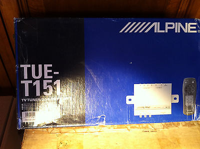 "Alpine TUE-T151 TV Tuner/Diversity unit ""New in the box"""