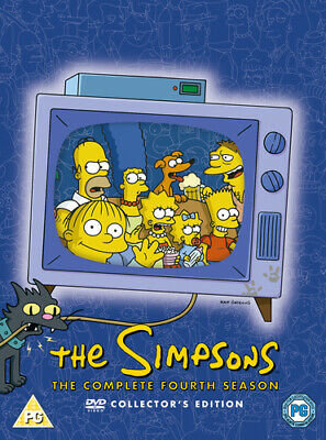 The Simpsons: Complete Season 4 DVD (2004) Jeff Lynch