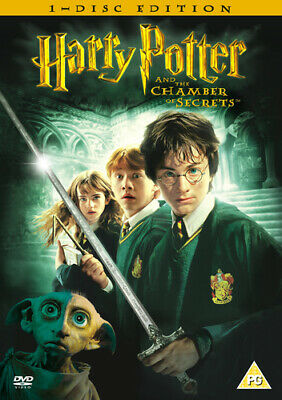 Harry Potter and the Chamber of Secrets DVD (2005) Daniel Radcliffe, Columbus