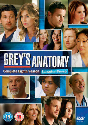 Grey's Anatomy: Complete Eighth Season DVD (2012) Ellen Pompeo
