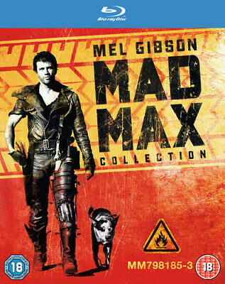 Mad Max Trilogy Blu-ray (2013) Mel Gibson