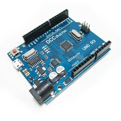 UNO R3 ATMEGA328P-16AU CH340G Micro USB Compatible to Arduino Without Cable