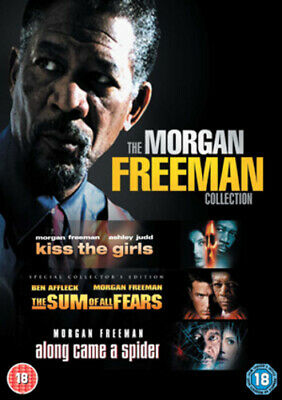 Kiss the Girls/Along Came a Spider/The Sum of All Fears DVD (2008) Morgan