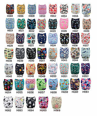 U pick Lot Alvababy Washable  Reusable Cloth Diaper nappy + 1Insert 6-33lbs