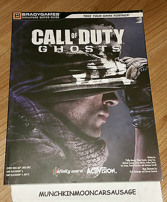 New Call Of Duty Ghosts Bradygames Strategy Guide FREE UK P&P Multi Format