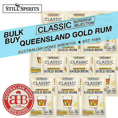 Still Spirits Classic Queensland Gold Rum x8 essence homebrew spirits distilling