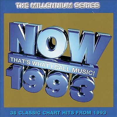 Various Artists : Now Thats What I Call Music 1993 - Mille CD Quality guaranteed