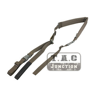 Emerson Tactical Two Point Quick Adjust Padded Sling Shoulder Strap w/Pull-Tab