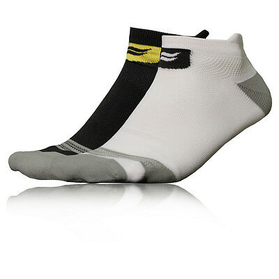 Sofsole Select Hombre Blanco Negro COOLMAX Running Tobillo Correr Calcetines 2