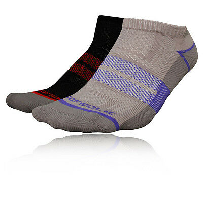 Sofsole Select Hombre Gris Negro COOLMAX Running Tobillo Correr Calcetines 2