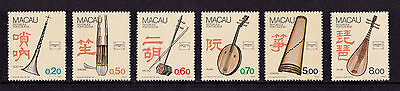 Macao - 1986 Musical Instruments - U/M - SG 623-8