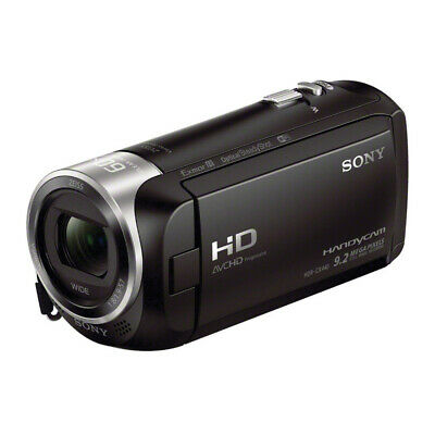 Sony HD Video Recording HDRCX440 Handycam Camcorder 26.8mm ZEISS® 30x Opt Zoom