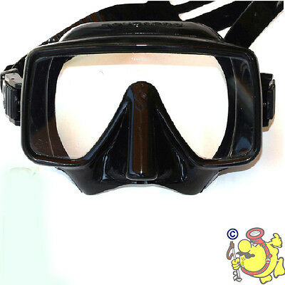 ch  scubapro FRAMELESS MASK DIVING ** TOP °° silicone DARK