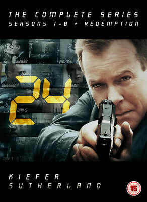 24: The Complete Series - Seasons 1-8 and Redemption DVD (2011) Kiefer