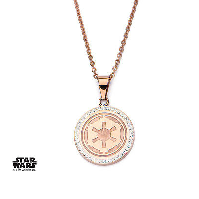 Stainless Steel Star Wars Galactic Empire Chain Necklace